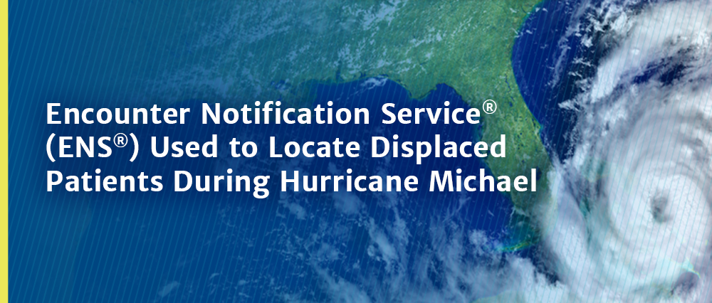 The Encounter Notification Service (ENS®) Used to Locate Displaced Patients During Hurricane Michael